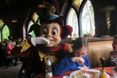 ... en hij kwam bij de lunch ook nog even langs :)