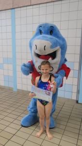 Evelyn met Zed en haar A diploma